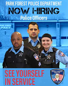 Park Forest Police looking for applicants